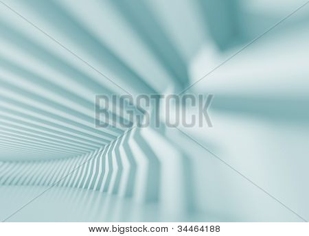 3d Abstract Architecture Design poster