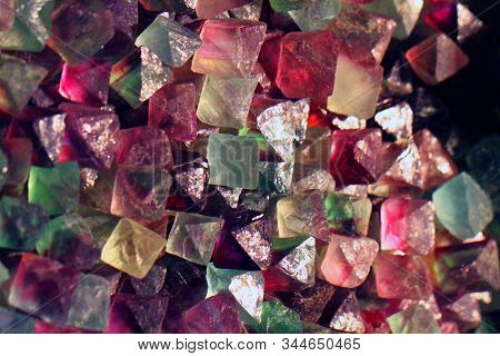 Fluorite Mineral Texture As Nice Natural Background