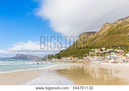 Muizenberg Beach, Surfers Corner, South Africa