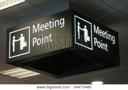 Meeting Area Sign