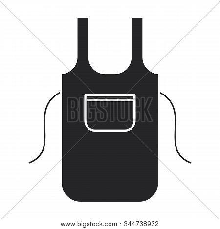 Kitchen Apron Vector Icon.black Vector Icon Isolated On White Background Kitchen Apron .