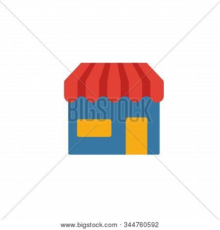 Marketplace Icon. Simple Flat Element From Crowdfunding Collection. Creative Marketplace Icon For Te