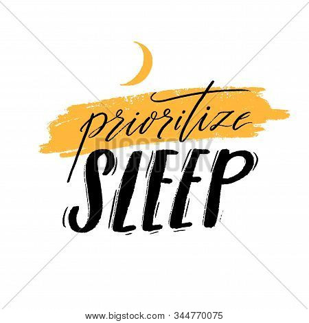 Invest In Rest. Motivational Quote About Sleep Quality, Importance Of Unplugging And Relax. Black Ha