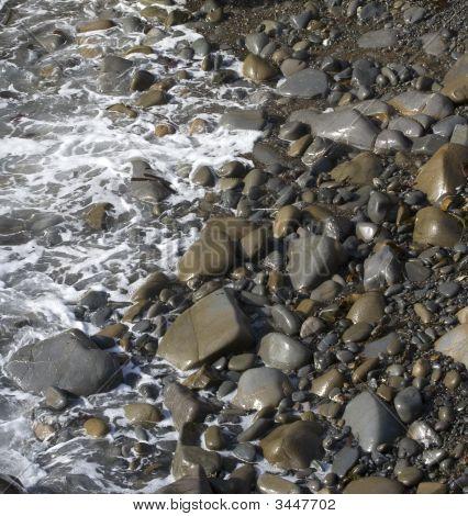 Foam In Rocks
