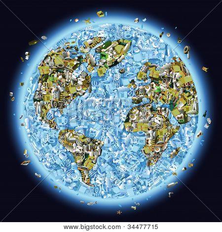 Trashed Planet