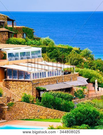 Cottage At Capo Coda Cavallo On Mediterranean Sea Reflex