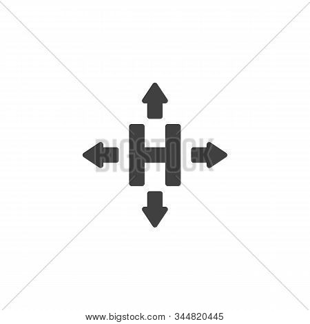 Hermetic Packaging Sign Vector Icon. Filled Flat Sign For Mobile Concept And Web Design. Cargo Logis