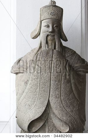 happy & smile Chinese sculpture