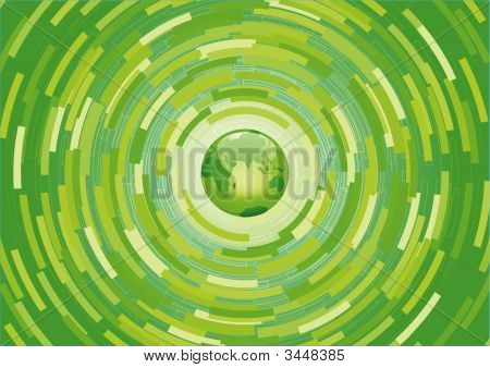Green Planet Background