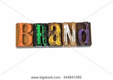 Brand. Marketing, Trust, Identity And Logo, Abstract Background