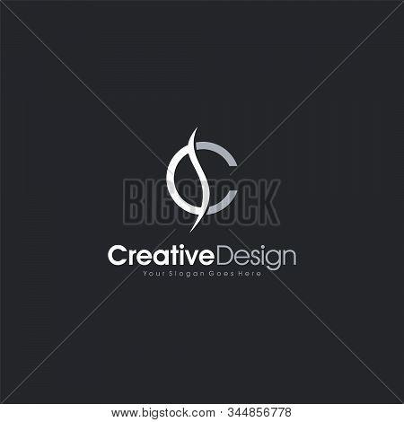 Logo Design Letter Sc Or Cs Abstract Logo Template Design Vector, Emblem, Design Concept, Creative S