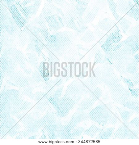 Pale Blue Dotted Background With Staines. Vector Modern Background For Posters, Brochures, Sites, We