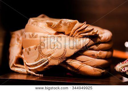 Wedding Sehra Of Groom, Dulha Sehra Stock Photo