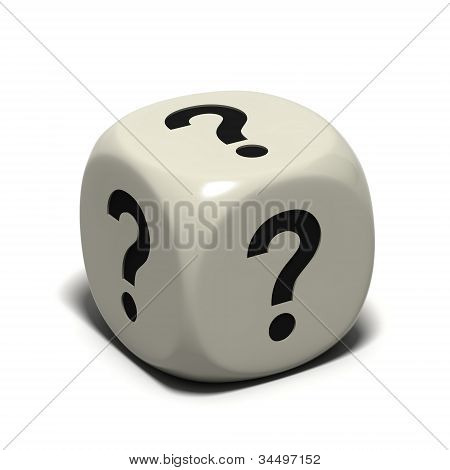 dice question marks