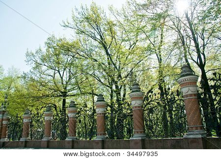 Fence Posts In Russia