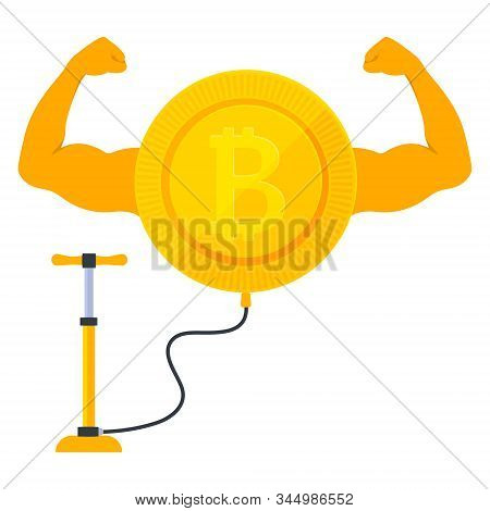 Strong Growing Bitroin Cryptocurrency With A Pump