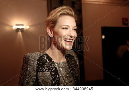 NEW YORK-JAN 6: Actress Cate Blanchett attends the New York Film Critics Circle Awards at the Edison Ballroom on January 6, 2014 in New York City.