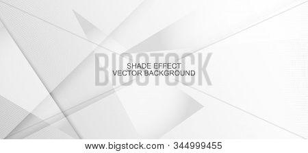Halftone Dynamic Gray Vector Background. Minimal Faded Banner. Halftone Wallpaper. Pop Art Light Dot