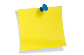 Yellow Remainder Note