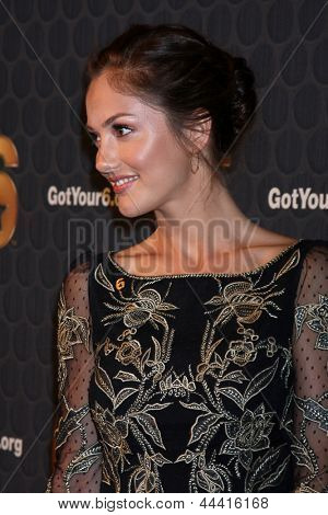 LOS ANGELES - MAY 10:  Minka Kelly arrives at the Launch of