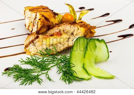 French Chop With  Cucumber