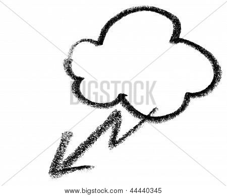 Stormy Cloud Icon