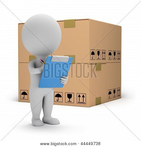 3D Small People - Warehouse Services