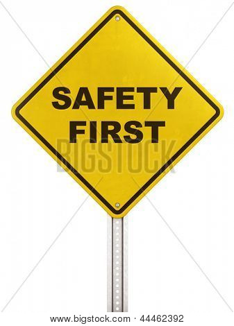 3d rendering of a yellow traffic sign with