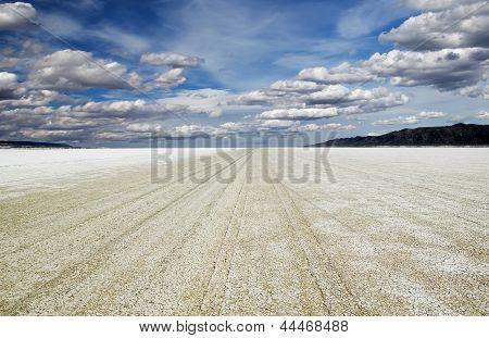 Playa Of The Black Rock Desert Under A Stormy Sky East Of Gerlach Nevada