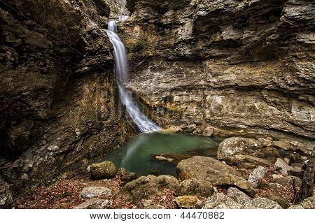 Eden Falls In Arkansas