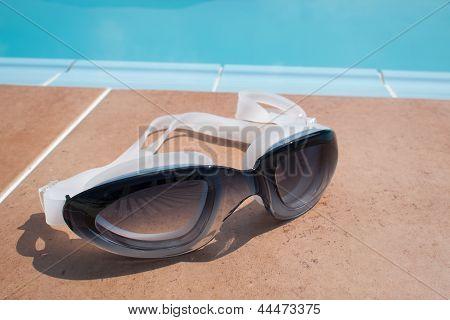 Black Goggles Glasses