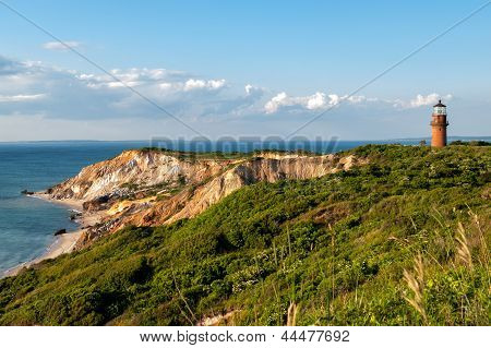 Gay Head Light and Aquinnah Cliffs