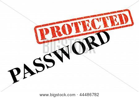 Your Password is now successfully 'PROTECTED' . poster