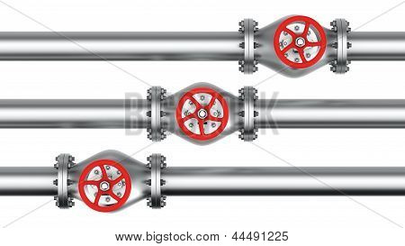 Three Direct Pipes