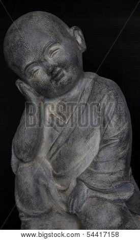 Budda Boy statue