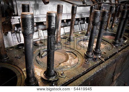 diesel train engine