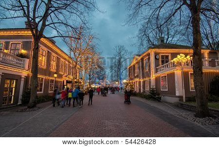Christmas time in Sweden