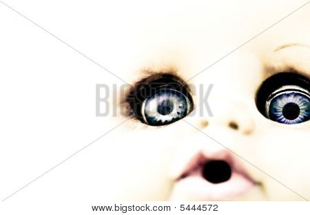 Scary Doll Features
