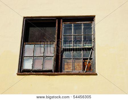Abandond Building Window 1
