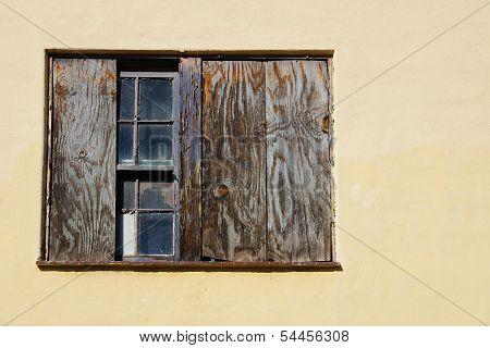 Abandon Building Window 3