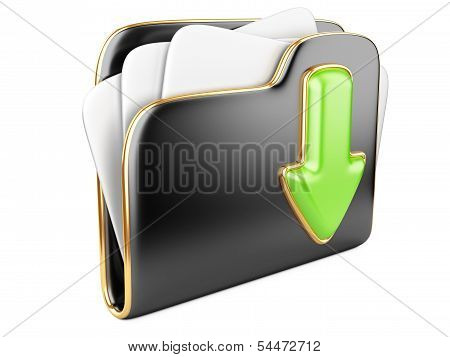 Download Folder 3D Icon.