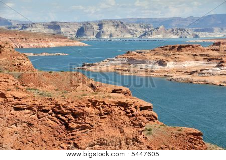 Morning Above Lake Powell, Waheap Bay