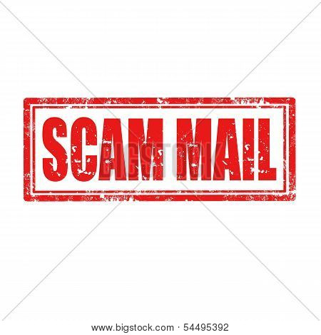Scam Mail-stamp