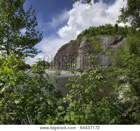 river Piota, Piedmont, Italy