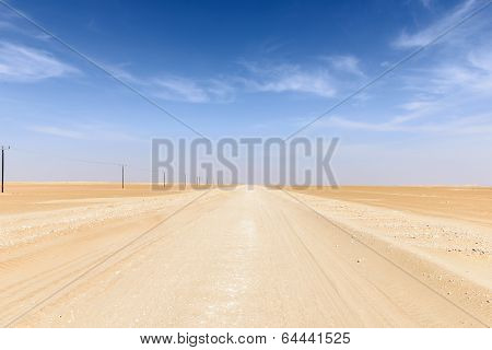 Route 43 To Ubar, Rub Al-khali Desert (oman)