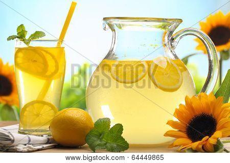 Citrus lemonade,summer drink.
