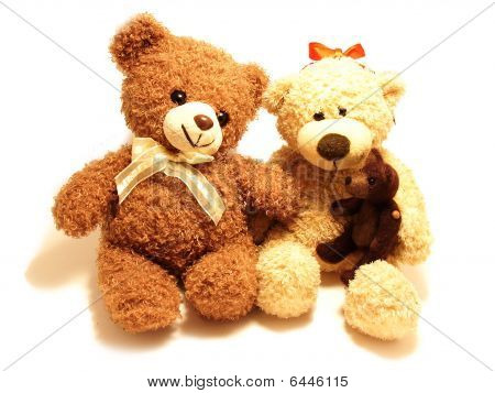 Teddy-bears Family