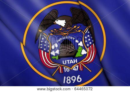 Flag Of Utah (usa)
