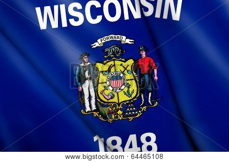 Flag Of Wisconsin (usa)