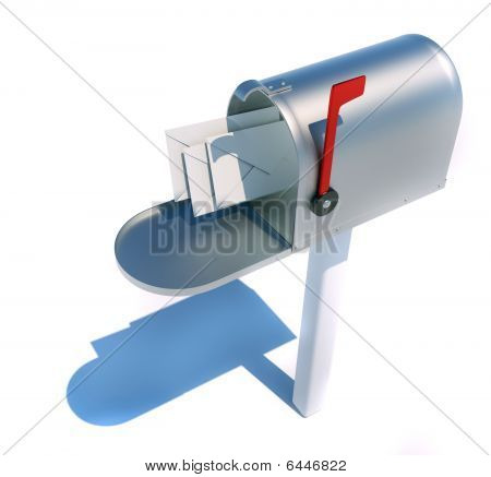 Mailbox And Envelopes
